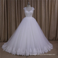 Latest Simple Long Sleeve Wedding Dresss