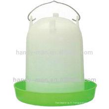 119 7L Type Straight En Plastique De Haute Qualité Pour Alimentateur De Poulet Volaille