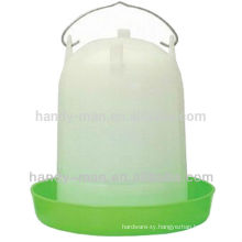 119 7L High Quality Plastic Straight Type For Chicken Feeder Poultry Drinkers