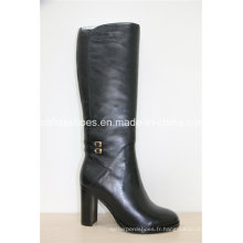 16fw New Fashion Sexy Chaussures hautes en cuir