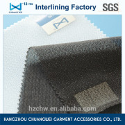 garment factory knitting apparel tearable interfacing