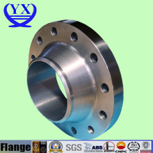 Stainless steel casting wn so flange