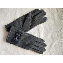 Новые модные женские перчатки с бантом