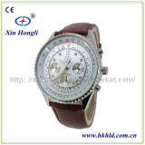 Leather strap watch factory western watch XHL-G1