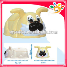 Plastik nettes Tier nettes Kaninchen-Töpfchen-Babytrainings-Töpfchen-Babyprodukt
