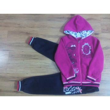 Winter Children Girl Sport Suit for Kids Wear