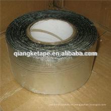 cinta autoadhesiva de butilo de aluminio impermeable aplicada en frío