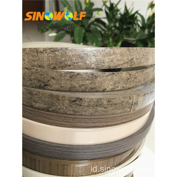 Penjualan panas PVC Woodgrain Edge Tape PVC Strip