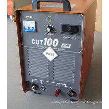 Inverter DC IGBT Máquina de corte de plasma Cut100g