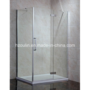 Salle de douche de charnière