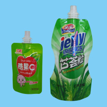 Plastic Self-Standing Packing with Spout, Plastic Spout Pouch