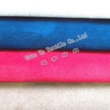 Polyester Embossed Velvet Suede Curtain / Sofa Fabric (G69-15)