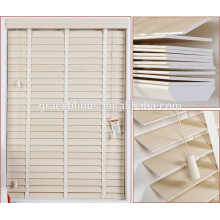 50mm PVC fauxwood printedHorizontal Venetain blinds