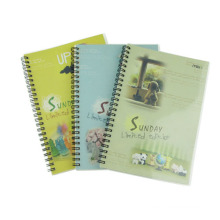 PP Cover Spiral Book Office Papeterie Promotion Gift Student Diary