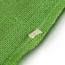 Top ile özel yeşil keten çanta külotu