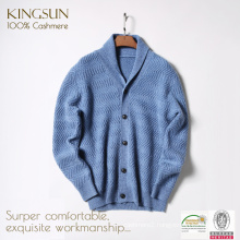 Mens Cashmere Coat,100% Cardigan Coats for Men, Male Cashmere Sweater