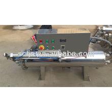 2015 esterilizador ultravioleta caliente de la venta para el agua de las aguas residuales hecha en China