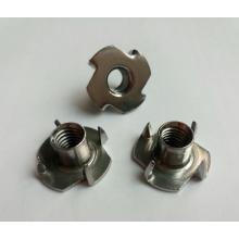 4 Prong Paslanmaz Çelik T Somunlar M5