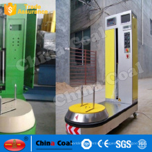 Alibaba China hot products plastic film luggage wrapping machine