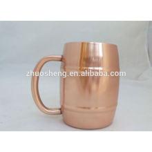 taza de cerveza de vidrio promocional de alta calidad barato