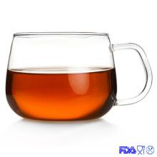 Taza de cristal, Taza del hogar, Taza de café de cristal, Taza del té