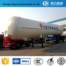 Reboque diferente do tanque do LPG do tamanho semi para a venda de 40000 litros a 62000 litros