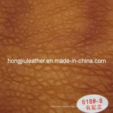 European Style Sofa Used Thick Sipi Leather (Hongjiu-618#)