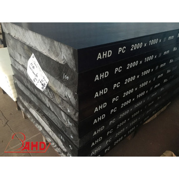 Venta al por mayor Black ESD (Anti-Static) PC Solid Plastic Sheets
