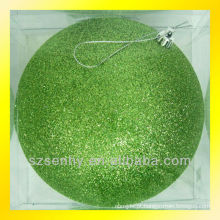 Magnífica espuma decorativa grande bolas de xmas