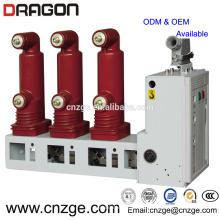 Interruptor de circuito de vacío interior de alto voltaje 11kv 630a / poste incrustado