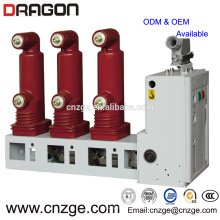 11kv 630a high voltage indoor vacuum circuit breaker/embedded pole