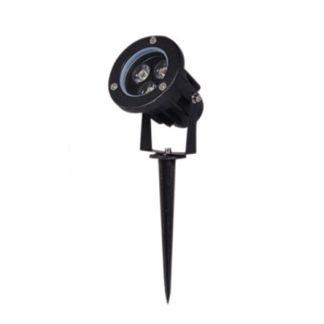 Dimmable Aluminum Black 3W CREE LED Spike Light