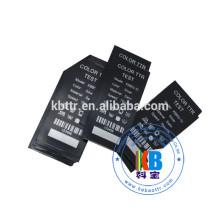 Textile color metallic silver ribbon for black satin ribbon label printing