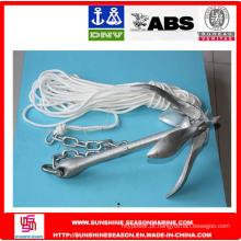 ABS - âncora de garra com corda de âncora