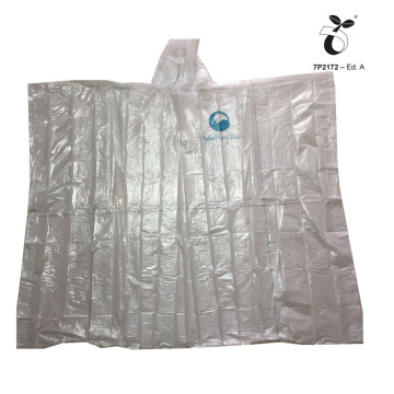 eco-friendly Biodegradable poncho raincoat