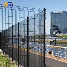 welded iron wire powder coated fences with bends