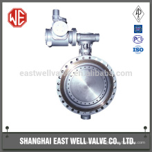Stainless steel butterfly valve worm gear
