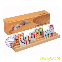 High Quality Wooden Domino Racks