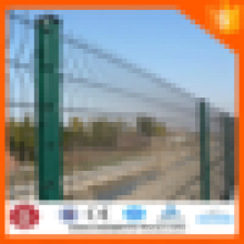ISO9001:2008 high quality,low price 3 bends wire mesh fence,professional factory