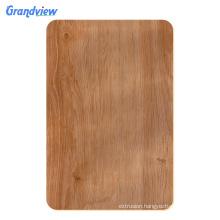 3mm Color wood grain unbreakable acrylic plastic sheet