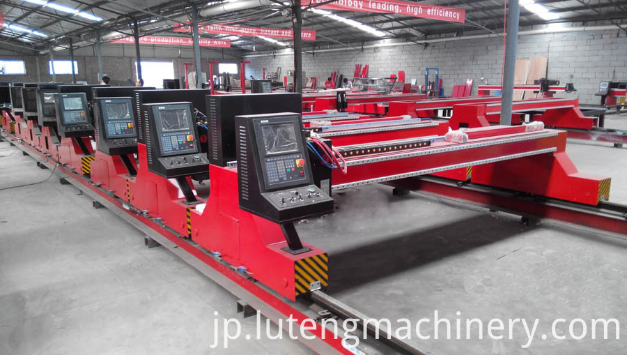 CNC plasma flame cutting machine