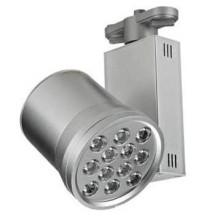 12W Super Bright AC85-265V Led Track Light avec blanc pur