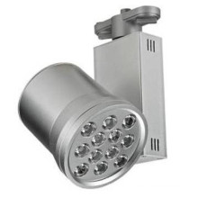 12W Super Bright AC85-265V Led Track Light with Pure White