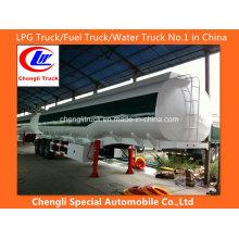 Reboque de tanque de combustível de alumínio Reboque de tanque de óleo Reboque de caminhão de tanque de combustível de aço inoxidável