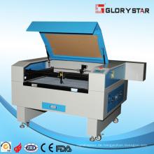 Nicht-Metall-Materialien CO2-Laserschneiden und Graviermaschine
