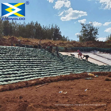 Ecological geo bags woven Geotextile Sand Bag Retaining Wall