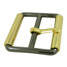 Two Tones Metal Pin Handbag Buckle
