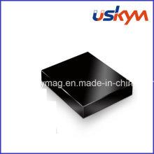 Schwarzer Epoxid-Neodym-Magnet Motor-Magnet Quadratischer NdFeB Magnet