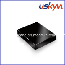 Black Epoxy Neodymium Magnet Motor Magnet Square NdFeB Magnet