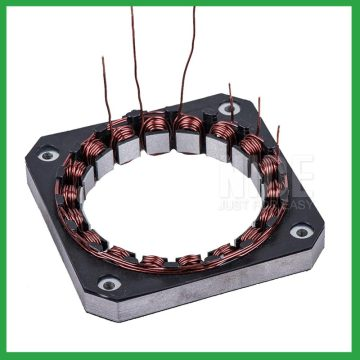 Automatic stepper motor stator coil winding machine